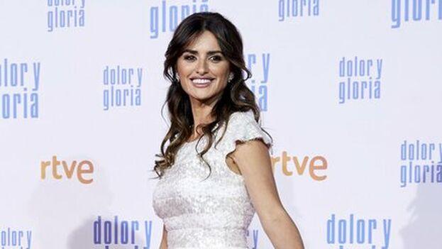 Penélope Cruz la pasada semana en la premier de la nueva película de Pedro Almodovar. (EFE)