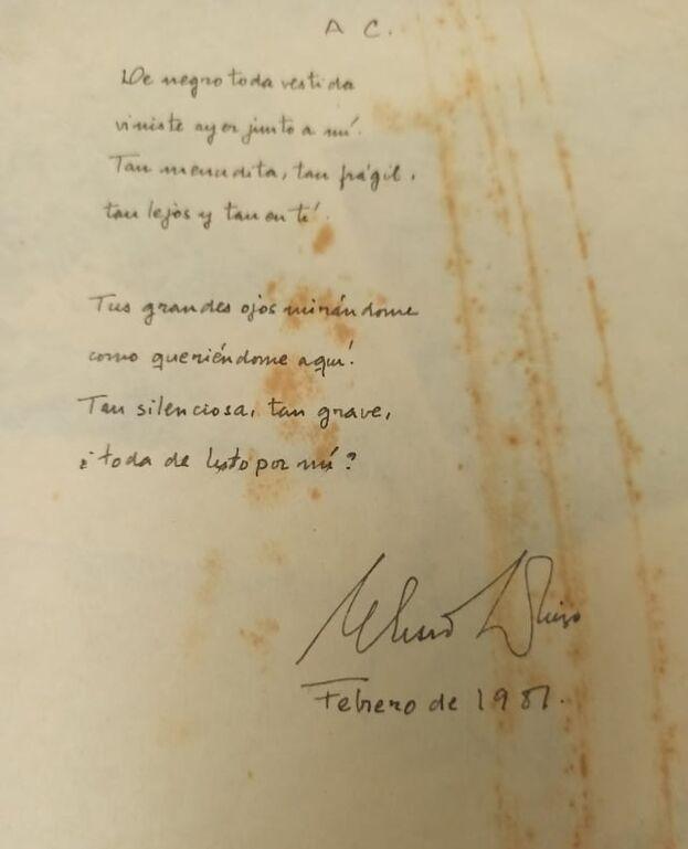 Poema poco conocido de Eliseo Diego y escrito para la poeta Cira Andrés. (Cortesía)