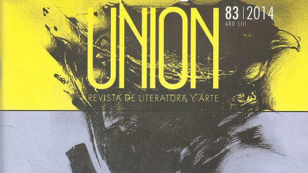 Portada del polémico número 83 de la revista Unión. (14ymedio)