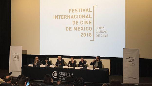 Presentación del primer Festival Internacional de Cine de México. (@Imcine)