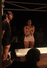 Presentación de Jacuzzi en el Festival de Teatro de La Habana. (14ymedio)