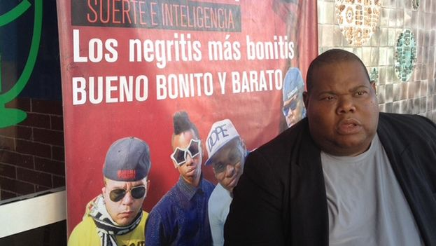 Promoción de un grupo de reggaetón. (14ymedio)