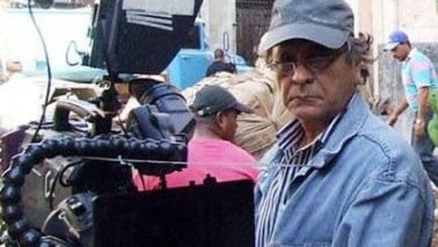El dirección de fotografía Raúl Pérez Ureta, fallecido este miércoles en La Habana. (UNEAC)