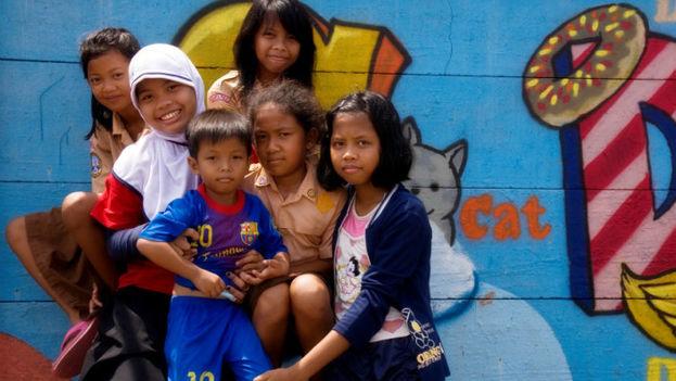 Reclaim Jakarta busca combatir el terror con el arte. (Kat)