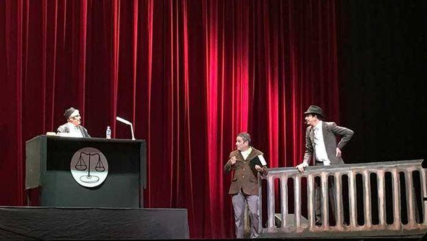 'Relacioncidio' triunfa en el Teatro Karl Marx de La Habana. (Facebook/¿Jura decir la verdad?)