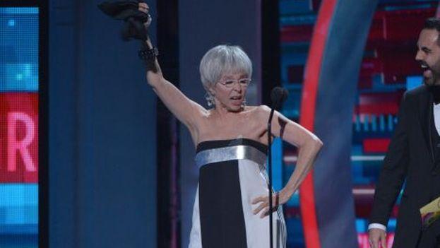 Rita Moreno bailó reggaetón durante la ceremonia, protagonizando la anécdota de la gala