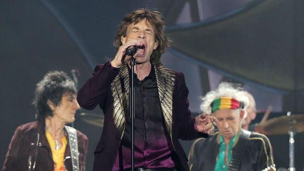 Los Rolling Stones durante un concierto en Düsseldorf. (EFE)