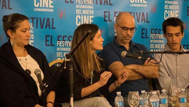 Rueda de prensa de la presentación de 'Agosto' en el Festival de Cine de La Habana. (@festivaldecinedelahabana)