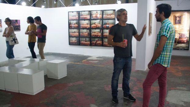 Sala de exposición n la Fábrica de Arte Cubano, FAC (Foto Luz Escobar)