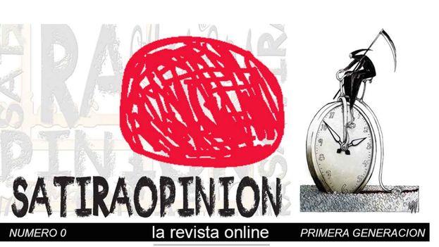 """La revista 'Sátira opinión' no responde a líneas de ningún partido político, mi ideología, ni a dogmas o religión alguna"""", dice el artista gráfico Wilfredo Torres. (Captura satiraopinion.es)"""