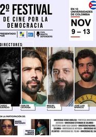 Segundo Festival de Cine por la Democracia. (Facebook)