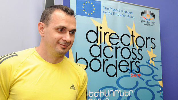 El director Oleg Sentsov. (EU Neighbourhood Info Center)