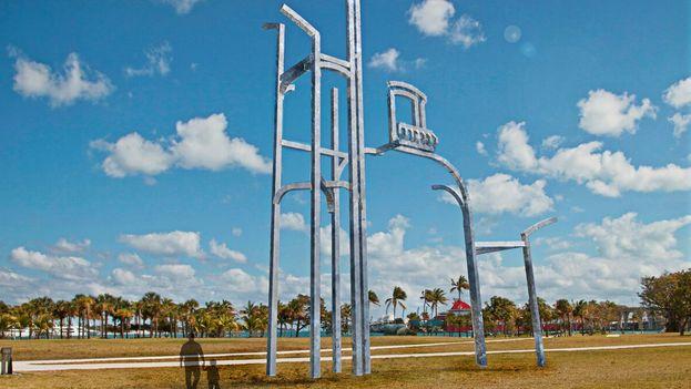 Simulación de 'Balcón de La Habana' en Miami. (Juan Garaizabal)
