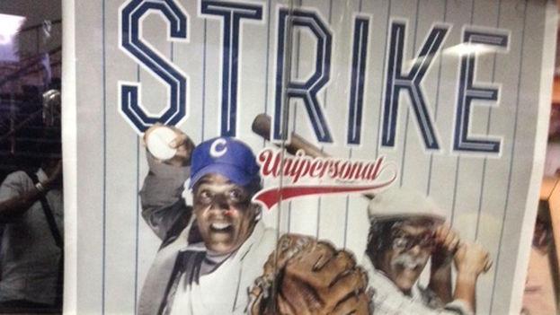 Strike, unipersonal interpretado por el actor Omar Franco (Foto 14ymedio)