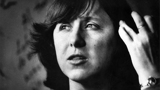 La escritora Svetlana Alexievich, premio Nobel de Literatura. (Desde su colección personal/alexievich.info/)