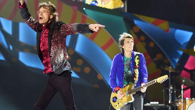 The Rolling Stones en el concierto de La Habana. (Stonesincuba)