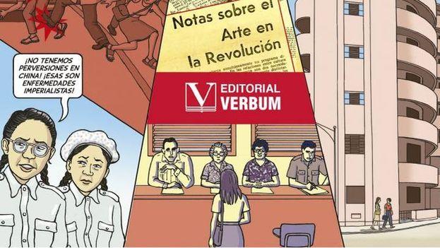 La ilustradora germano-estadounidense Anna Veltfort cuenta en su novela gráfica el insoportable acoso de La Habana en los primeros años de la Revolución. (Parte de la portada de 'Adiós mi Habana')
