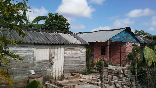 Vivienda en el barrio El Guirito, Gibara. (14ymedio)