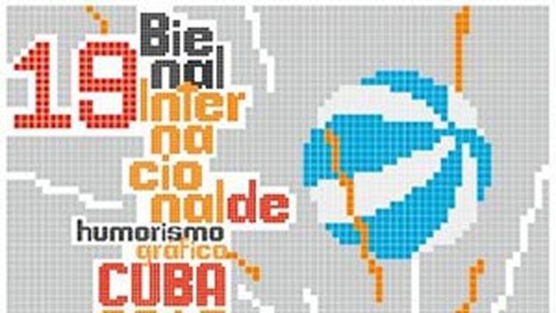 El cartel de la XIX Bienal Internacional de Humorismo Gráfico.