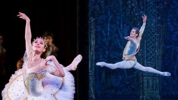 Las estrellas cubanas Yolanda Correa y Alejandro Virelles bailan desde esta semana en la importante compañía berlinesa. (Collage/14ymedio)