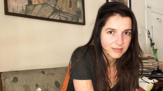 La actriz Lynn Cruz. (14ymedio)