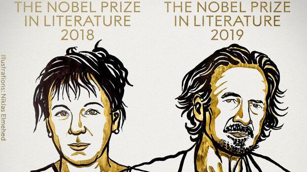 La entrega este año del Nobel de Literatura ha sido doble, tras la suspensión el pasado año. (NobelPrize)