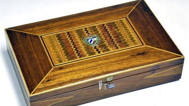 La caja de madera del 'Che'. (Mullock's)
