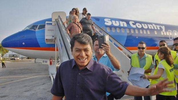 El cantante Álvaro Torres en Cuba. (Álvaro Torres)