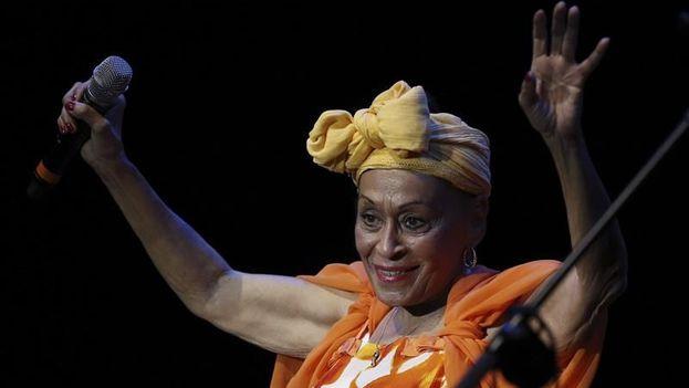 La cantante Omara Portuondo. (EFE/Archivo)