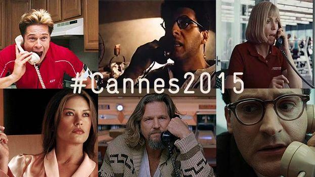 Un cartel del Festival de Cannes 2015. (Facebook)