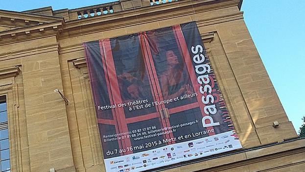 Un cartel del Festival Passage en Metz. (Festival Passage)