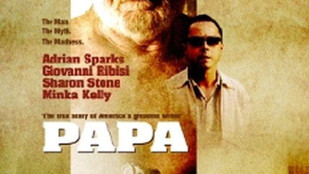 El cartel de la película 'Papa'.