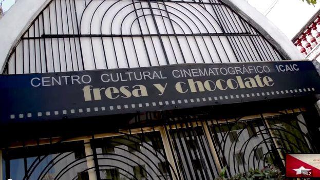 El centro cultural cinematográfico Fresa y Chocolate de La Habana. (14ymedio)
