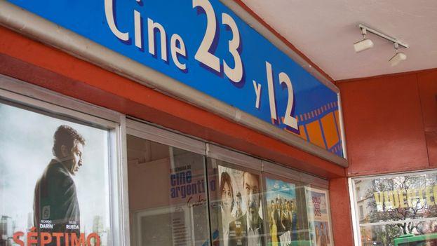 El cine 23 y 12, la nueva sede de la Cinemateca. (14ymedio)