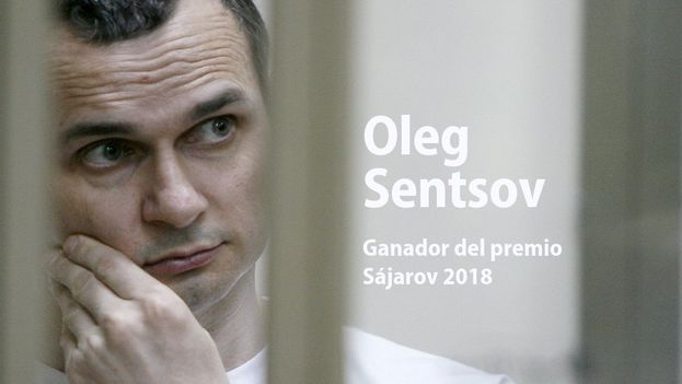 El cineasta Oleg Sentsov fue condenado en 2015 a 20 años de prisión. (Europarl_es)