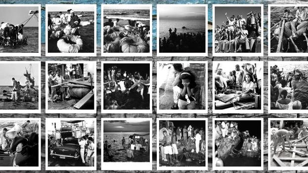 Algunas imágenes de la colección de Willy Castellanos. (Web del proyecto Exodus)