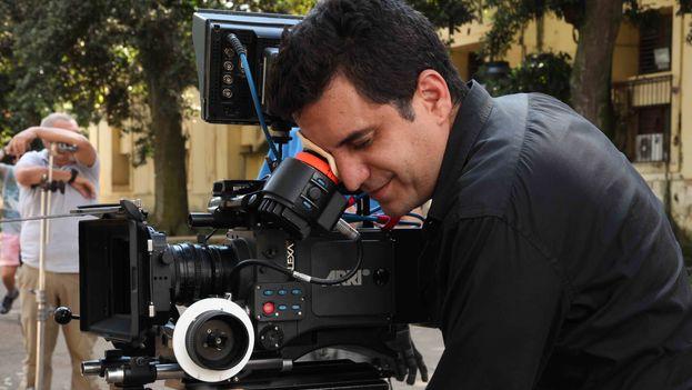El director de cine Pavel Giroud. (Cortesía)