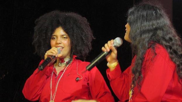 EL dúo franco cubano Ibeyi. (14ymedio)