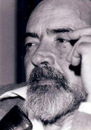 El escritor Eliseo Diego.