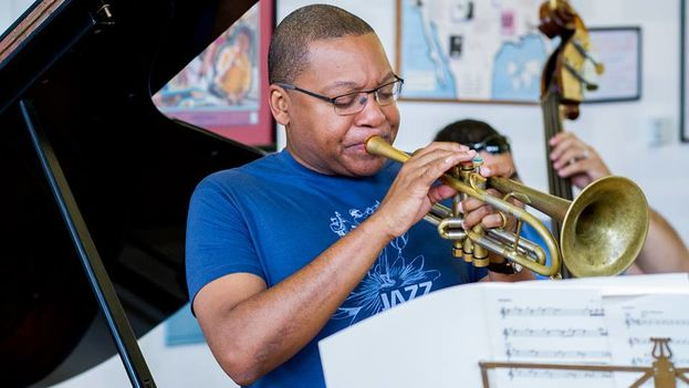 El trompetista estadounidense Wynton Marsalis. (Luigi Beverelli/Facebook)