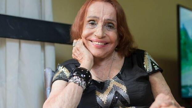 La artista falleció este domingo en Buenos Aires, donde vivía desde hace más de 70 años. (Diego Spivacow/AFV)