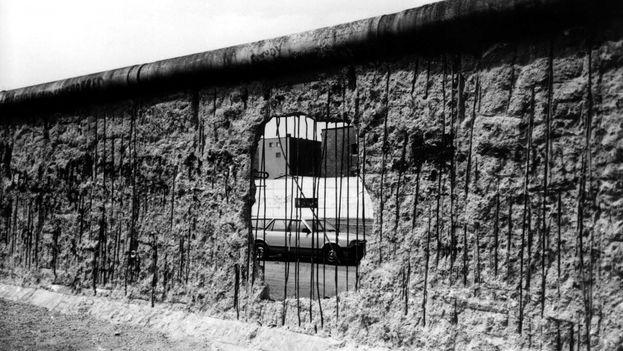 Una imagen de la exposición fotográfica 'Und Jetzt? ¿Y ahora qué?'. (José A. Figueroa)