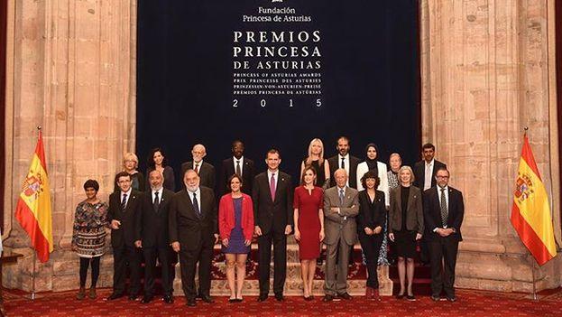Los ganadores de los Premios Princesa de Asturias 2015.