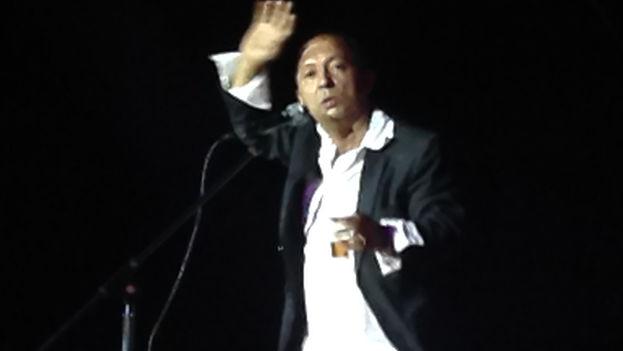 El humorista Nelson Gudín, El Bacán. (14ymedio)