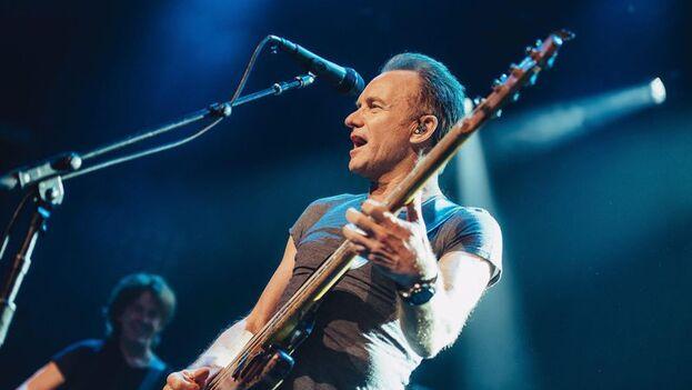 La subasta incluye asistir virtualmente a una sesión privada de grabación con Sting. (EFE)