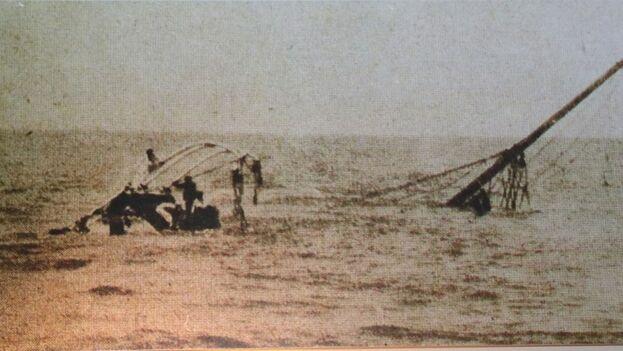El vapor naufragó a unas cien millas (185 kilómetros) del puerto que esperaba su atraque, desapareciendo con él 488 personas. (EFE)
