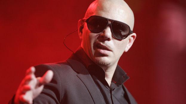 El músico cubano Pitbull.