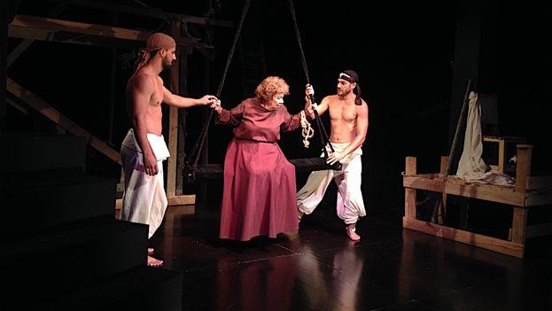 La obra 'Éxtasis', de la compañía Buendía. (14ymedio)