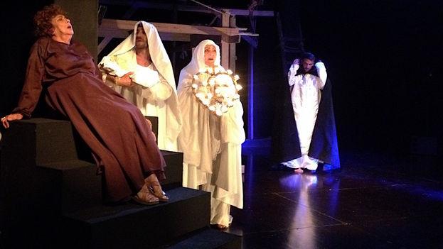 La obra 'Éxtasis', en el Teatro Buendía. (14ymedio)
