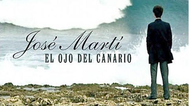El cartel de la película 'Martí, el ojo del canario' de Fernando Pérez.